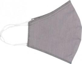 Μάσκα Προστασίας Υφασμάτινη Ενηλίκων Γκρι, 1τμχ