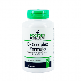 Doctors Formulas Vitamin B Compex Φόρμουλα Συμπλέγματος Βιταμινών B, 120 caps