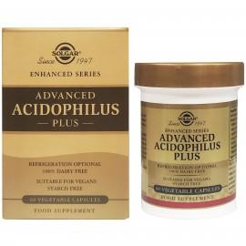 Solgar Advanced Acidophilus Plus, Προβιοτική Φόρμουλα, 60 φυτικές κάψουλες
