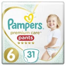 Pampers Premium Care Pants Μέγεθος 6 15+Kg 31 Πάνες-Βρακάκι