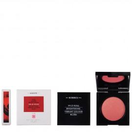 Korres Άγριο Τριαντάφυλλο Ρουζ Brightening Vibrant Colour Blush 12 Golden Pink 5.5g
