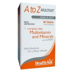 Health Aid A to Z Πολυβιταμίνη Multivitamin One A Day 90Caps.