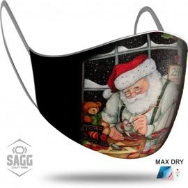 Παιδική Μάσκα Προστασίας Santa Claus 3, SAGG