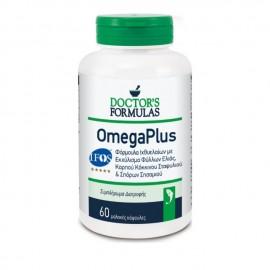 Doctors Formulas Omega Plus, Συμπλήρωμα Διατροφής, Φόρμουλα Ιχθυελαίων, 60 Μαλακές Κάψουλες