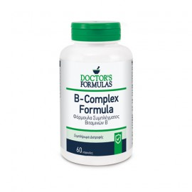 Doctors Formulas Vitamin B Compex Φόρμουλα Συμπλέγματος Βιταμινών B, 60 caps