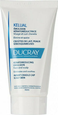 Ducray Kelual Keratoreducing Emulsion Κερατινορρυθμιστικό Emulsion Για Βρέφη,  για Πρόσωπο & Κεφάλι, 50ml