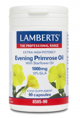 Lamberts Evening Primrose Oil with Starflower Oil 1000mg (Ωμέγα 6) 90 Κάψουλες