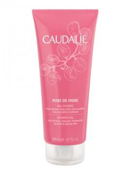 Caudalie Rose de Vigne Shower Gel Απαλό Αφρόλουτρο με Άρωμα Τριαντάφυλλο, 200ml