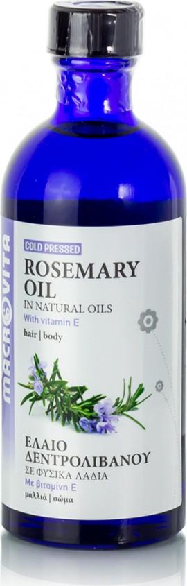 Macrovita Έλαιο Δεντρολίβανου Rosemary Oil 100ml (Έλαιο Δεντρολίβανου)