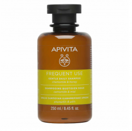 Apivita Απαλό Σαμπουάν Καθημερινής Χρήσης Χαμομήλι & Μέλι Gentle Daily Shampoo Chamomile & Honey 250ml