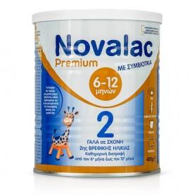 Novalac Premium 2 Γάλα 2ης Βρεφικής Ηλικίας από τον 6ο Μήνα έως τον 12ο Μήνα 400gr