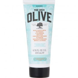 KORRES Pure Greek Olive Μαλακτική Κρέμα Λάμψης Μαλλίων με Παρθένο Ελαιόλαδο 200ml