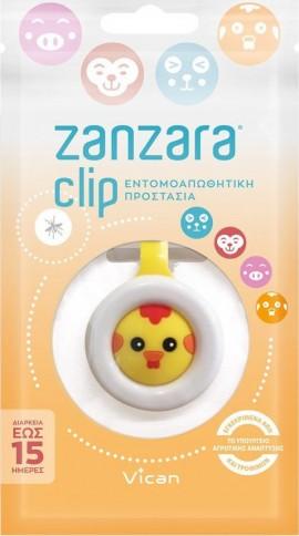 Vican Zanzara Clip Chicken για Εντομοαπωθητική Προστασία, 1 τεμ