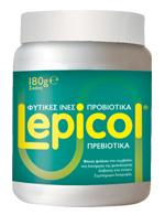 Lepicol Φυτικές Ίνες & Προβιοτικά - Πρεβιοτικά Για την Καλή Λειτουργία του Εντέρου, 180gr