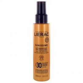 Lierac Sunissime Global Anti-Aging Protective Milk SPF 30, τονωτικό και αντιηλιακό γαλάκτωμα σώματος
