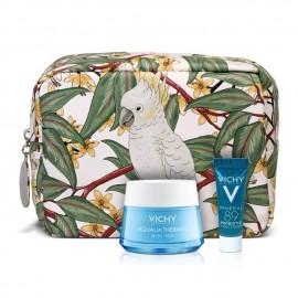 Vichy Promo Aqualia Thermal Rich Πλούσια Κρέμα για 48ωρη Eνυδάτωση για Ξηρή / Πολύ Ξηρή Επιδερμίδα, 50ml & Δώρο Mineral Probiotic Booster Ανάπλασης & Επανόρθωσης, 5ml & Νεσεσέρ, 1τεμ