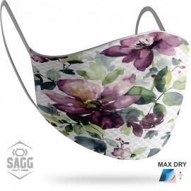 Γυναικεία Μάσκα Προστασίας Flowers, SAGG
