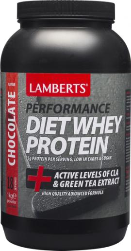 Lamberts Performance Diet Whey Protein (Γεύση Σοκολάτας), 1Kg