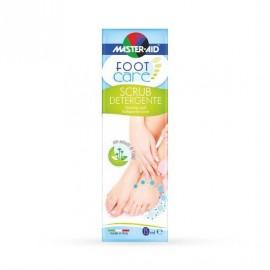 Master Aid Foot Care Scrub Detergente Καθαριστικό Ποδιών Απολέπιση 75ml