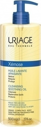 Uriage Xemose Ηuile Lavante Apaisante Cleansing Soothing Oil 500ml