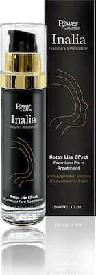 Power of Nature Inalia Botox Like Effect Premium Face Treatment Αντιρυτιδική Κρέμα Προσώπου, 50ml