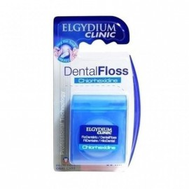 Elgydium Dental Floss Chlorhexidine, Οδοντικό Νήμα με Χλωρεξιδίνη, 50m
