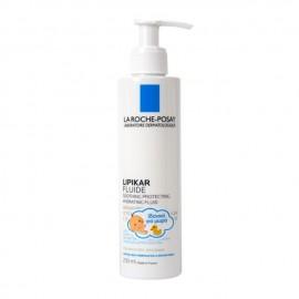 La Roche Posay Lipikar Fluide Ενυδατικό Γαλάκτωμα με Καταπραϋντική & Προστατευτική Δράση για Βρέφη, Παιδιά & Ενήλικες, 200ml