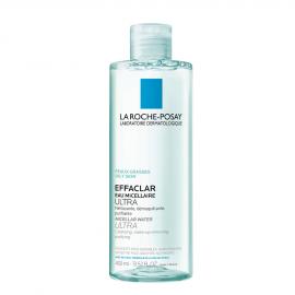 La Roche Posay Effaclar Eau Micellaire Ultra Καθαριστική λοσιόν για λιπαρό & ευαίσθητο δέρμα, 400ml