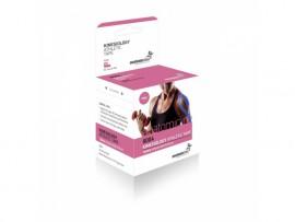 Anatomic Line Kinesiology ( Kinesio Tape ) Athletic Tape Χρώμα:Ροζ Ταινία Κινησιοθεραπείας 5cm x 5m