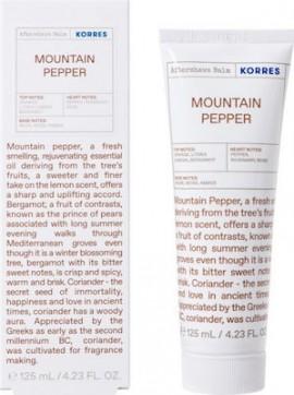 Korres Aftershave Mountain Pepper Γαλάκτωμα για μετά το ξύρισμα, 125ml