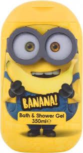 Minions Bath & Shower Gel Banana Shower Gel 350ml