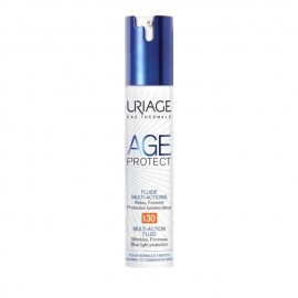 Uriage Age Protect Fluide Multi-Actions SPF30, Αντιγηραντική Λεπτόρρευστη Κρέμα Ημέρας με Δείκτη Προστασίας, 40ml