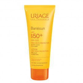 Uriage Bariesun Lait Tres Haute Protection SPF 50+ Αντηλιακό Γαλάκτωμα Πολύ Υψηλής Προστασίας για Πρόσωπο & Σώμα, 100 ml