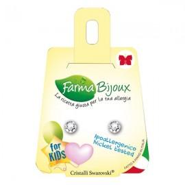 Farma Bijoux Σκουλαρίκια Κρύσταλλο 5.3mm, 1 Ζευγάρι