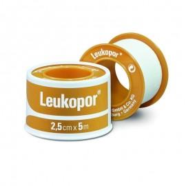 Leukopor Αυτοκόλλητη Επιδεσμική Ταινία 2,5cm x 5m, 1 τεμάχιο