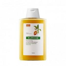 Klorane Mango Βutter Shampoo Σαμπουάν με βούτυρο Μάνγκο για ξηρά μαλλιά, 200ml
