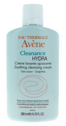 Avene Cleanance Hydra Creme Lavante Apaisante Καταπραϋντική Κρέμα Καθαρισμού για Δέρμα υπό Ξηραντική Αγωγή, 200ml