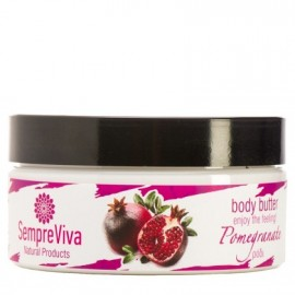 SempreViva Body Butter Pomegranate,Κρέμα Σώματος Ρόδι 200gr