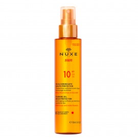Nuxe Sun Tanning Oil For Face And Body Για Πρόσωπο Και Σώμα SPF10 150ml