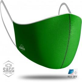 Unisex Μάσκα Προστασίας Green, SAGG