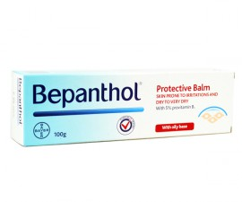 Bepanthol Protective Balm Αλοιφή για Ανάπλαση & Ενυδάτωση του Ξηρού & Ευάισθητου σε Ερεθισμούς Δέρματος, 100gr