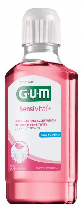 GUM 1727 SensiVital+ Mouthrinse 300ml