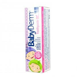 Intermed Babyderm Toothpaste Παιδική Οδοντόκρεμα με Γεύση Τσιχλόφουσκα 50ml