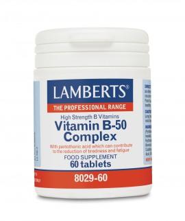 LAMBERTS VITAMIN B-50 COMPLEX 60TABS