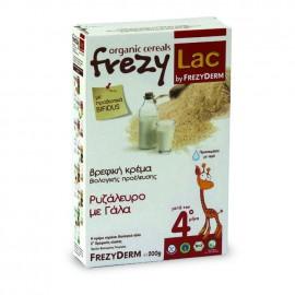 Frezylac Βιολογική Κρέμα Ρυζάλευρο με Γάλα για Βρέφη μετά τον 4ο μήνα, 200 gr