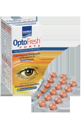 Intermed Optofresh Forte Συμπλήρωμα Διατροφής για την Όραση, 60 επικαλυμμένα δισκία