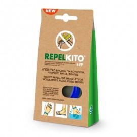 Ripelito 6VP Απωθητικό Βραχιόλι για Κουνούπια Μπλε 1τμχ.