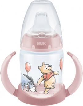 NUK Learner Bottle First Choice Με Ρύγχος Disney Donkey Ροζ 6-18m, 150ml 10.743.828