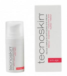 Tecnoskin Revive Complete Anti Aging Eye Cream Αντιρυτιδική Κρέμα Ματιών κατά των Μαύρων Κύκλων & της Κούρασης, 15ml