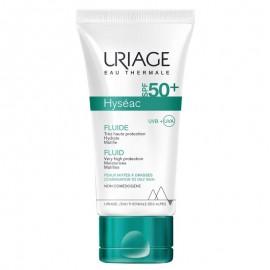Uriage Hyseac Fluide SPF50+, Λεπτόρρευστη Αντιηλιακή Κρέμα με Ματ Αποτέλεσμα για Λιπαρές/Μικτές Επιδερμίδες, 50ml